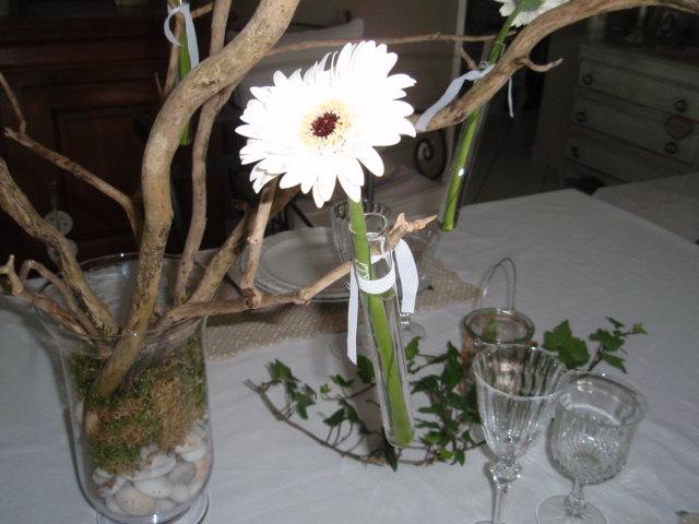 Fil de fer et compagnie art de la table for Decoration mariage avec bois flotte